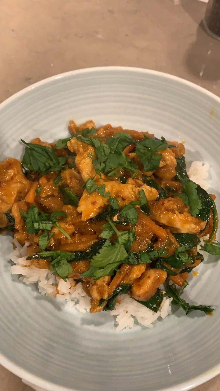 Easy Red Coconut Curry