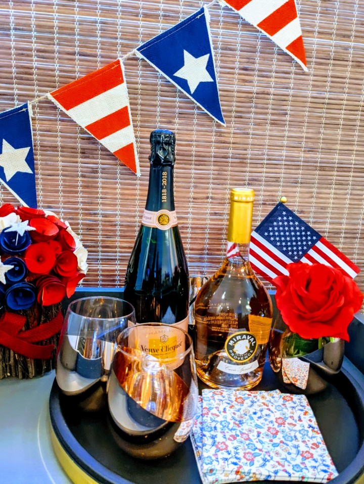 Patriotic Sips: Rosé, White andBlue